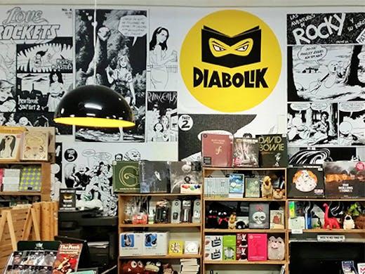 Diabolik Books & Records, Mount Hawthorn, Perth Bookstore, Perth Bookshop, Books, Book Shop