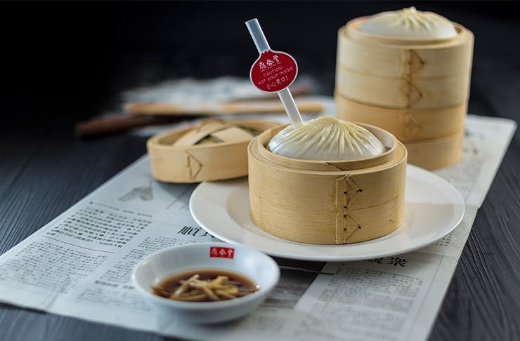 Giant xiao long bao sydney
