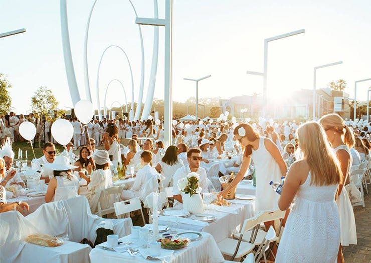 The World Famous Diner En Blanc Secret Picnic Is Coming Back To The Coast