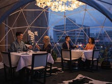 Book A Private Degustation For You And 9 Mates At This Epic New Harbourside Igloo