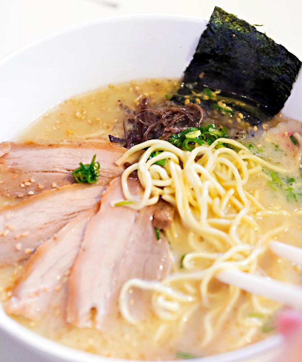 A bowl of ramen from Dosukoi in Fremantle.