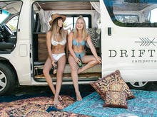 Let Us Introduce You To The Latest Glamping Trend On The Coast AKA Glampervans!