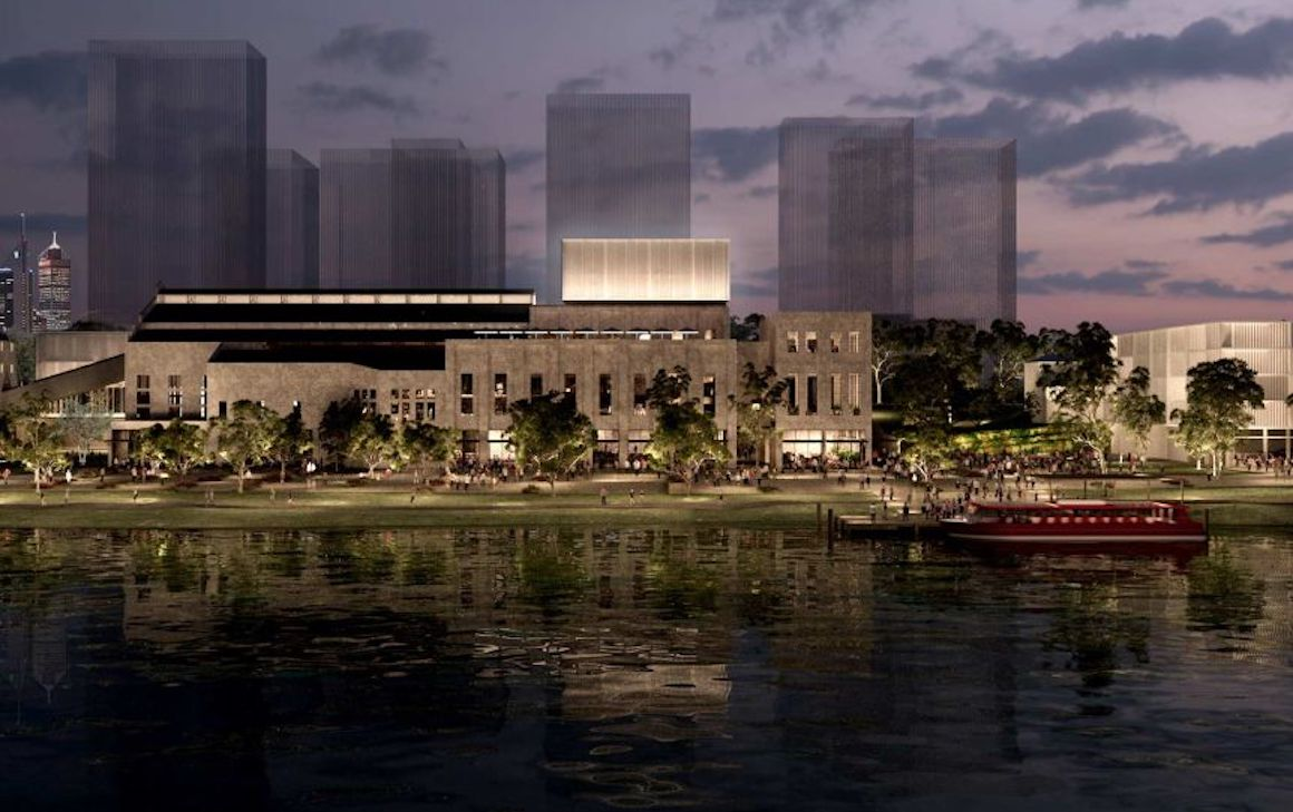 Artist Impression of the East Perth Power Plant Redevelopment