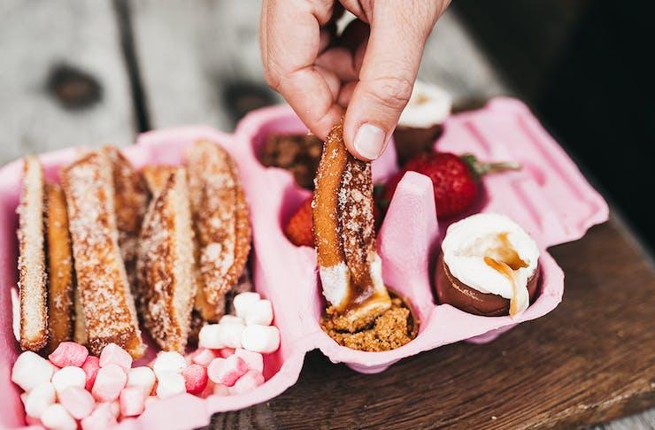 Gold Coast easter treats Easter Dippy Eggs Paddock Bakery