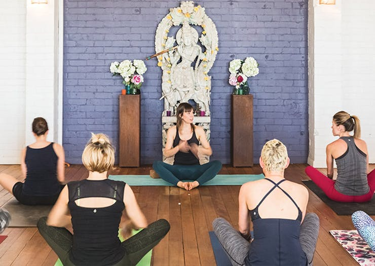 Egg of the Universe Yoga Studio Sydney