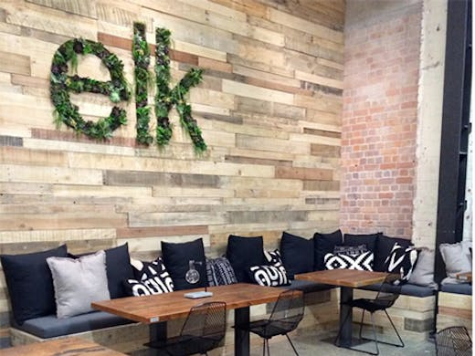 Elk Eatery is a new cafe on Graham Street—wander down for salads, great cabinet food and coffee.