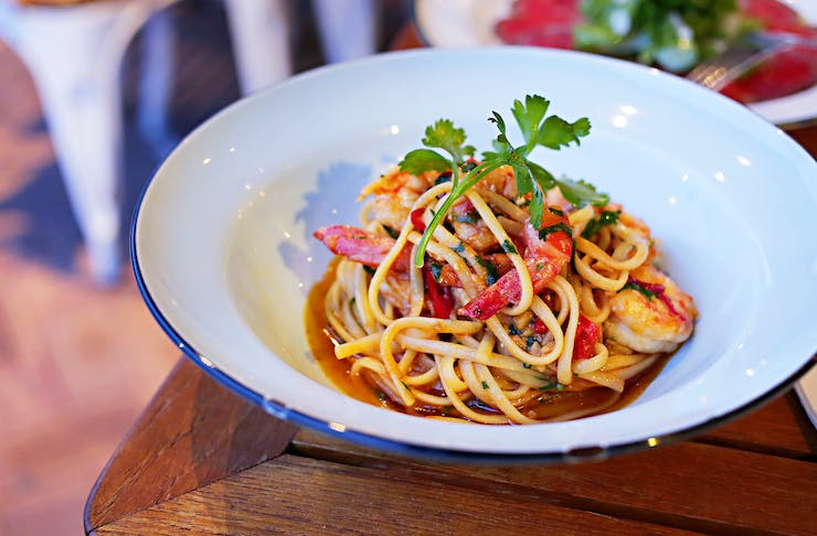 Pasta from Salsa Rossa in East Fremantle