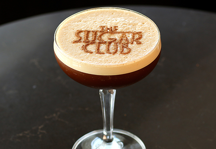 Espresso Martini at the Sugar Club