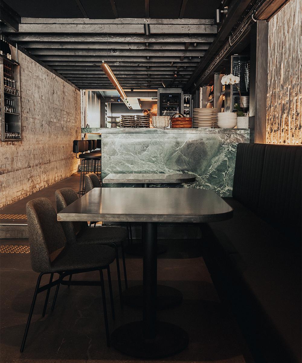 bar area inside essa