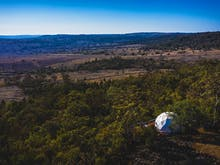 Sleep Under The Stars In NSW's First Luxury Dome Tent