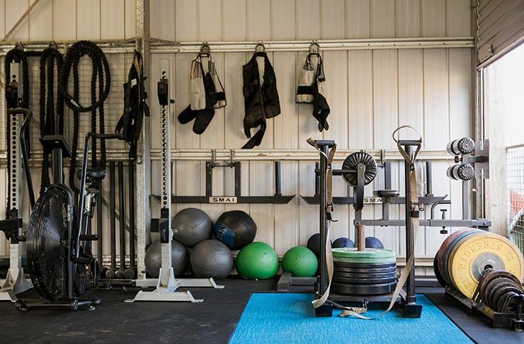 the farm gym