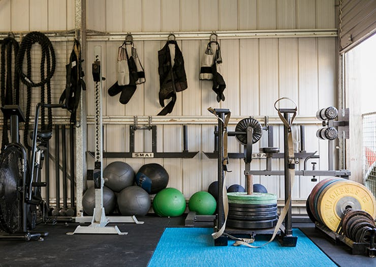 the farm gym