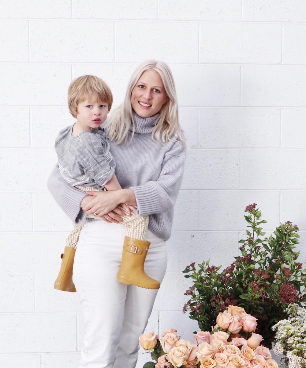 Female Business Owner Helen Pow of Little Posy Co