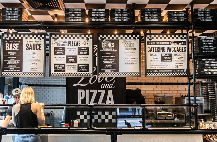 best pizza sydney and brisbane