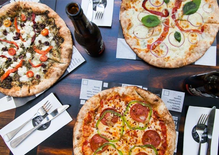 best pizza sydney and brisbane
