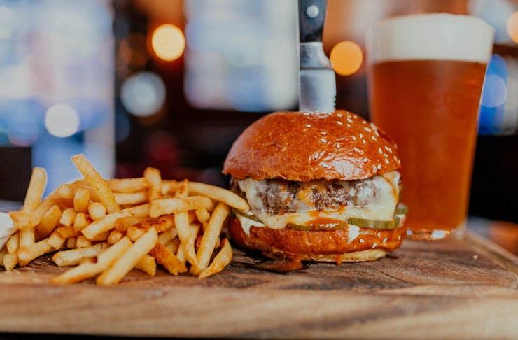 Free Burgers Brisbane Deliveroo