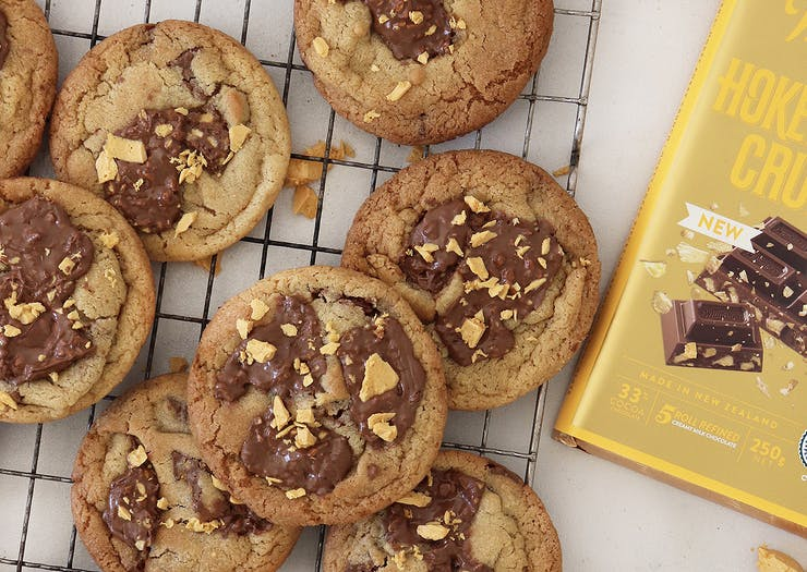Whip Up A Batch Of Whittaker's Epic Hokey Pokey Crunch Biscuits At Home
