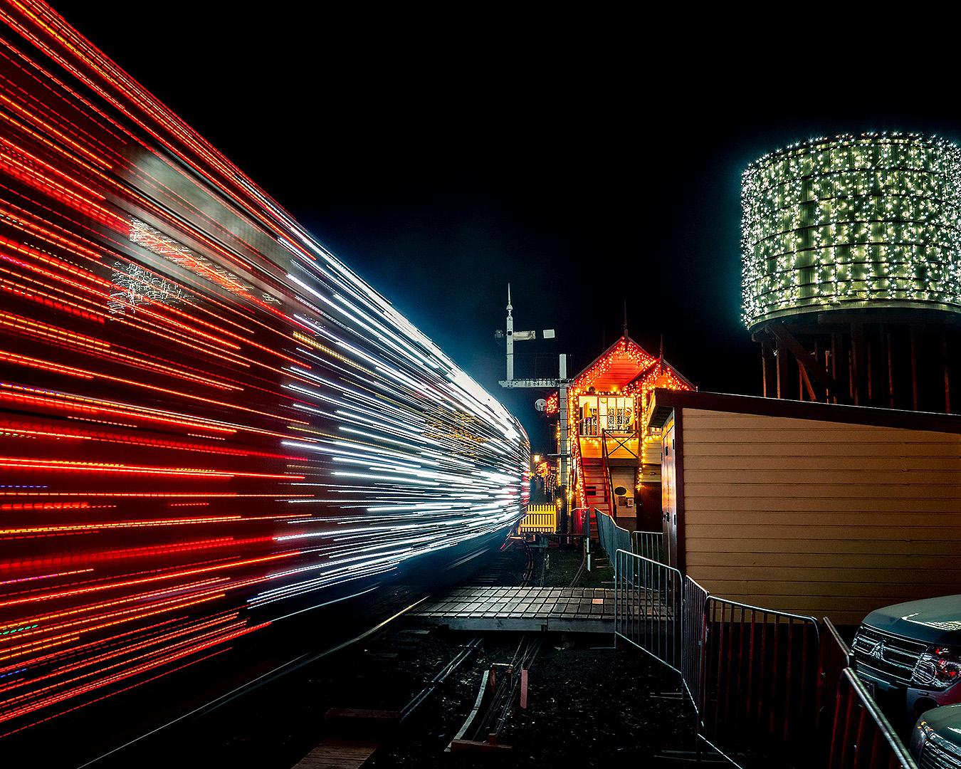 Lights at Glenbrook Vintage Railway
