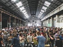 Hit Up The Valley For A Massive One-Day Wine Festival In A Warehouse