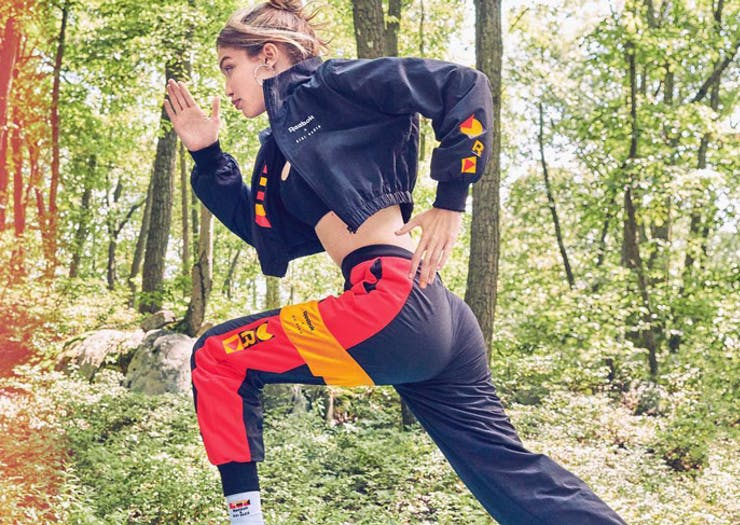Defy Expectations With Gigi Hadid's Full Reebok Collection