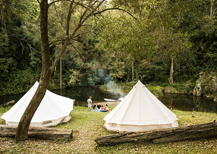 The Best Glamping Spots On And Around The Sunshine Coast