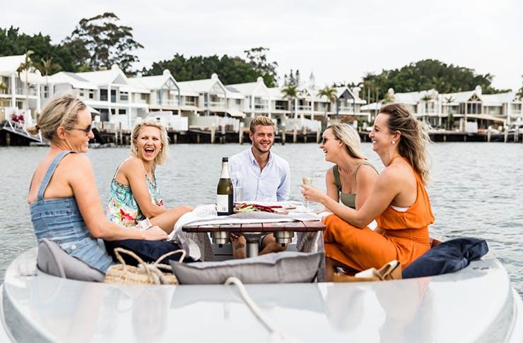 GoBoat Gold Coast electric picnic boats