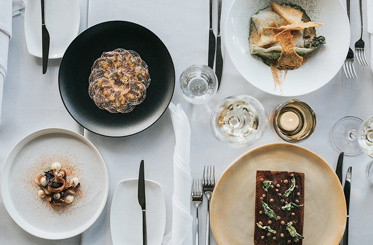 gold coast degustation restaurants and banquets