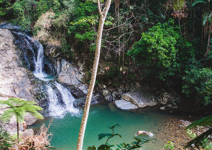 Magical Gold Coast Waterfalls You Can Actually Swim Under