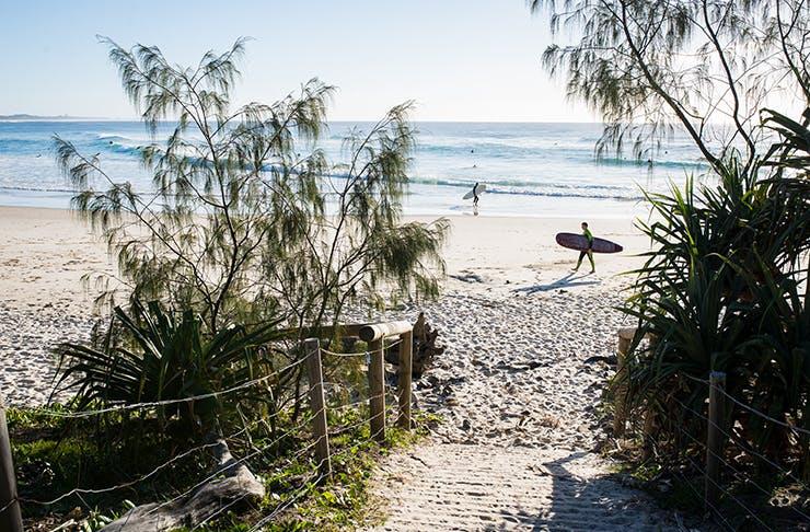 best beach towns nsw