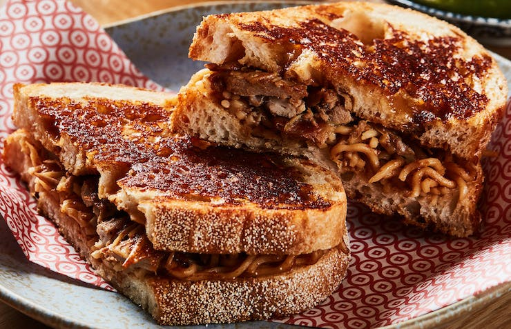 This Asian Restaurant Dropped A Loaded Toastie Menu