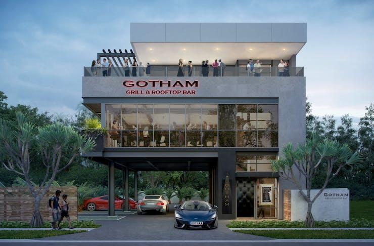 Gotham Grill & Rooftop Runaway Bay