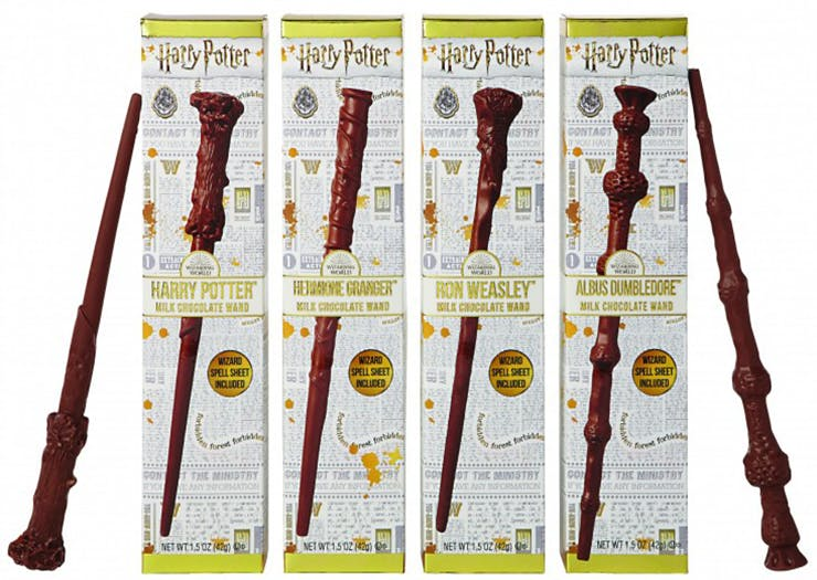 Jelly Belly Is Releasing Chocolate Harry Potter Wands—And Yeah, They're Magic