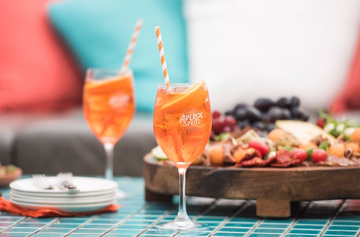 aperol spritz bar brisbane