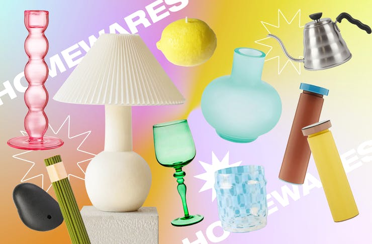 A collage of trending homewares.