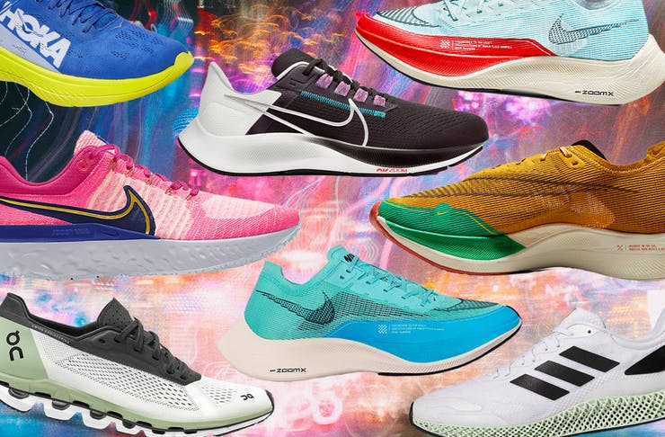 A collage of the best running shoes to own in 2021