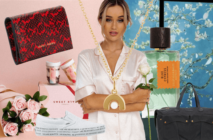 A collage of images showing the lovely gifts you can get your loved one for valentine's day.
