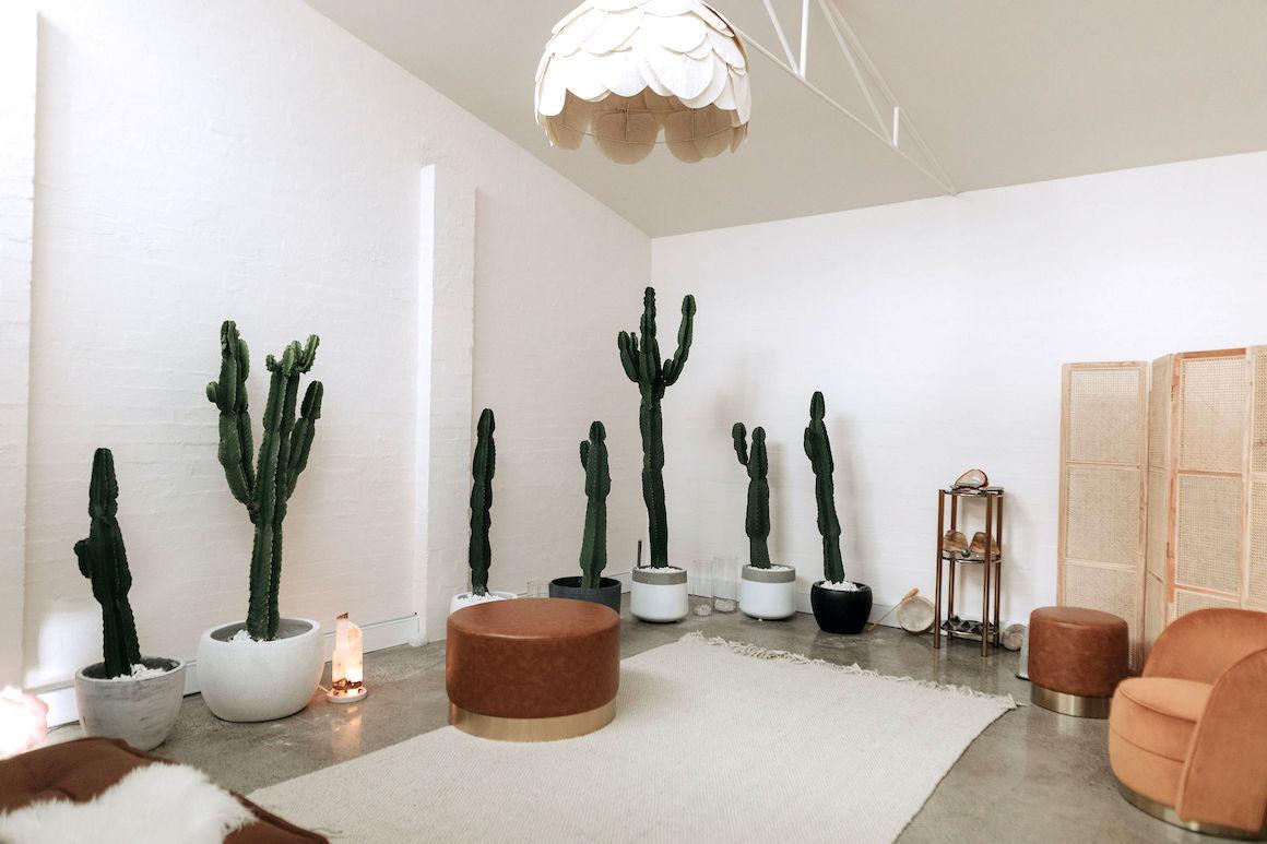 Mediatation Room at Horizon Yoga Cottesloe