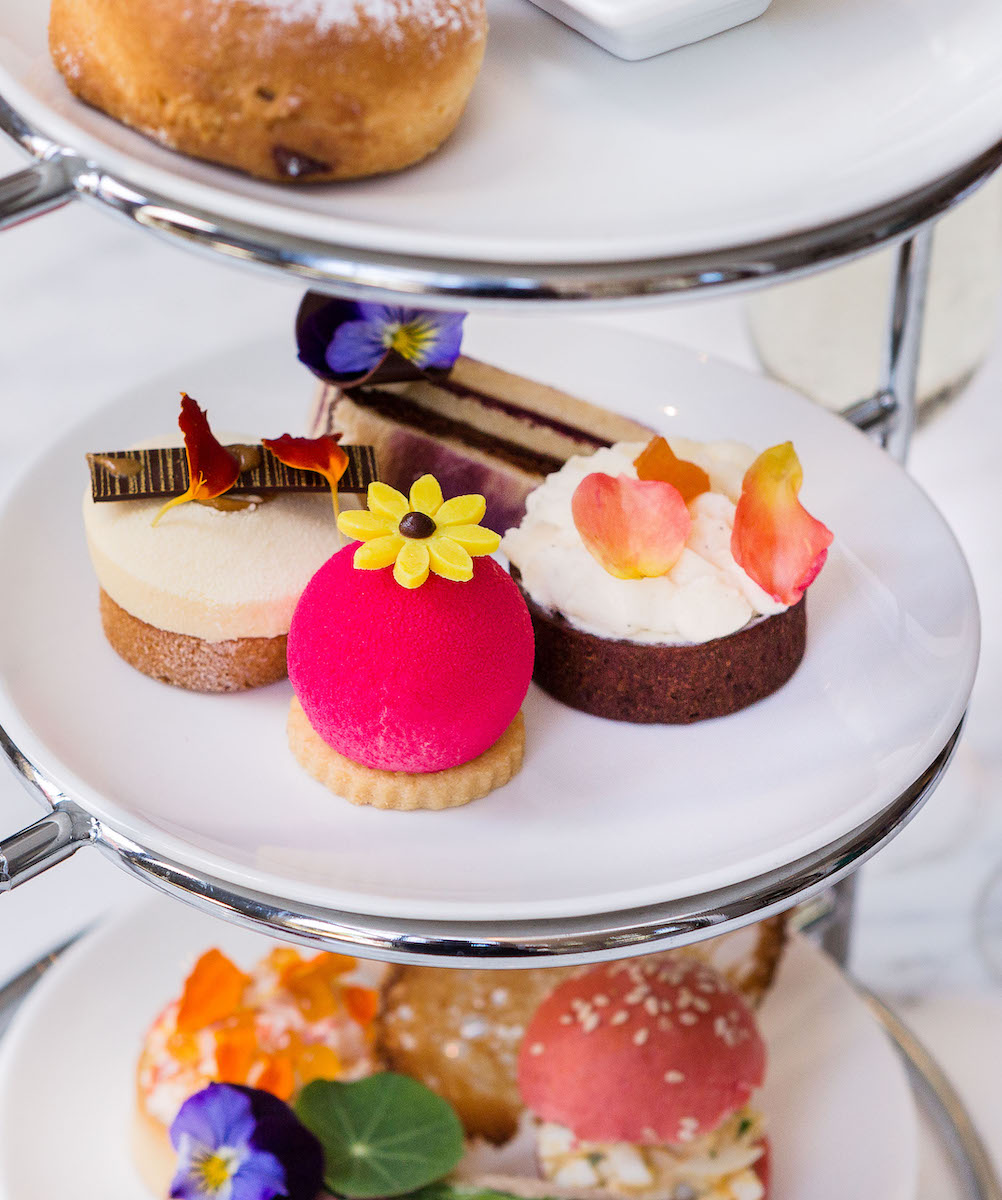 High tea platter with desserts at Haven, best high tea in Perth