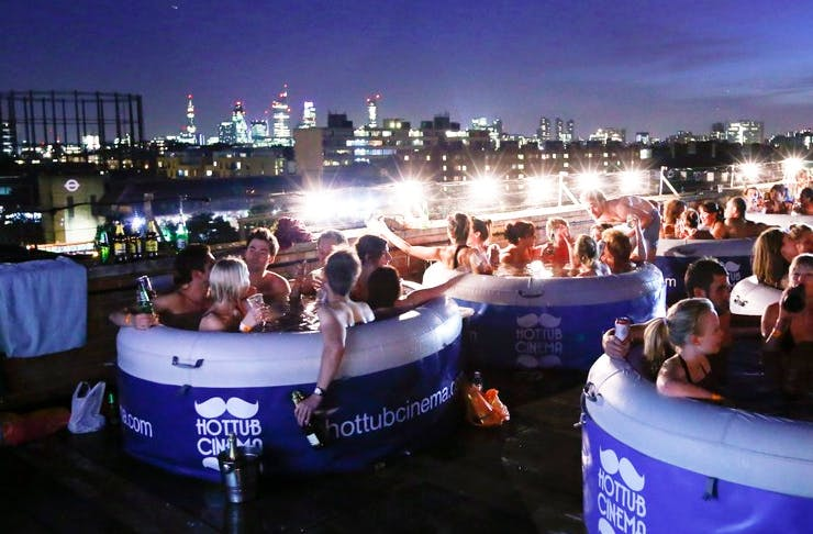 hot tub cinema coming to sydney