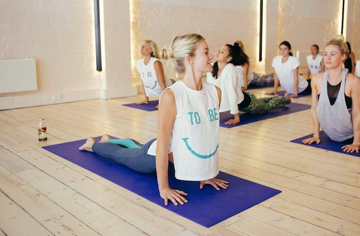 best hot yoga studios on the Gold Coast