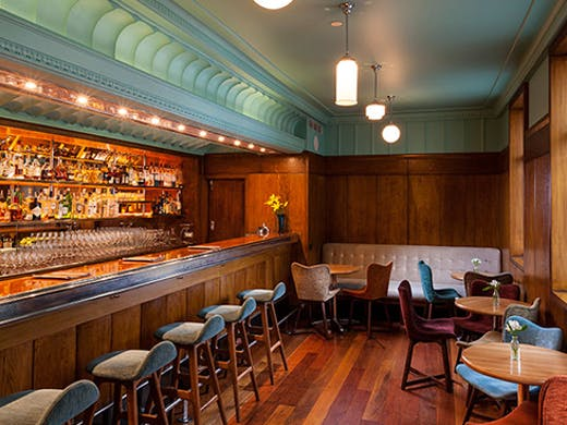 Located in Hotel DeBrett, Housebar is a bit of an Auckland institution, and after a recent restoration, it's looking rather snazzy.