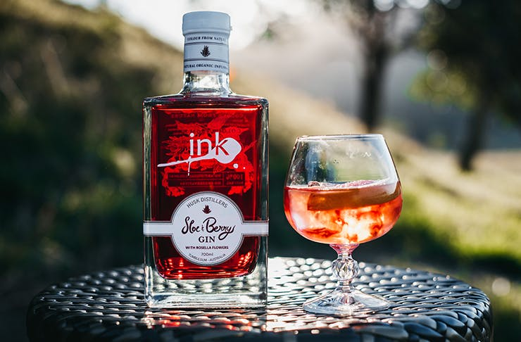 Ink Gin's new Ink Sloe & Berry Gin