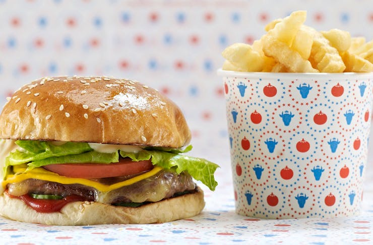 huxtaburger pop up sydney