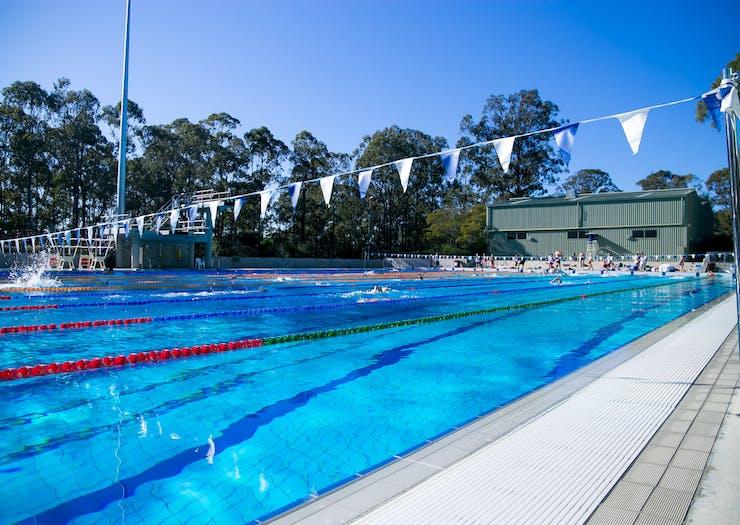 Swimming Aus