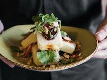 This Pan-Asian Spot Is Doing $35 Vegan Banquets & Golden Gay Time Bao