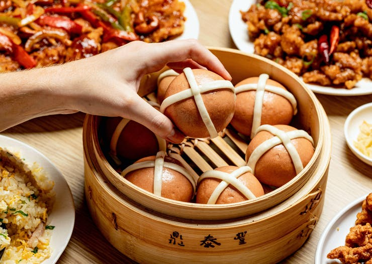 Hot Cross Baos Are A Thing And Here's Where You Can Get Your Hands On Them