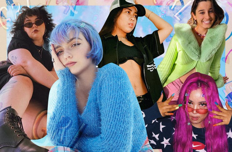 A collage of Sydney-based women for International Women's Day.