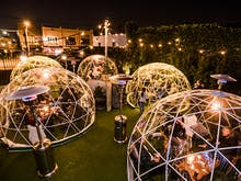 Dine Underneath The Stars In Private Winter Igloos Across The City