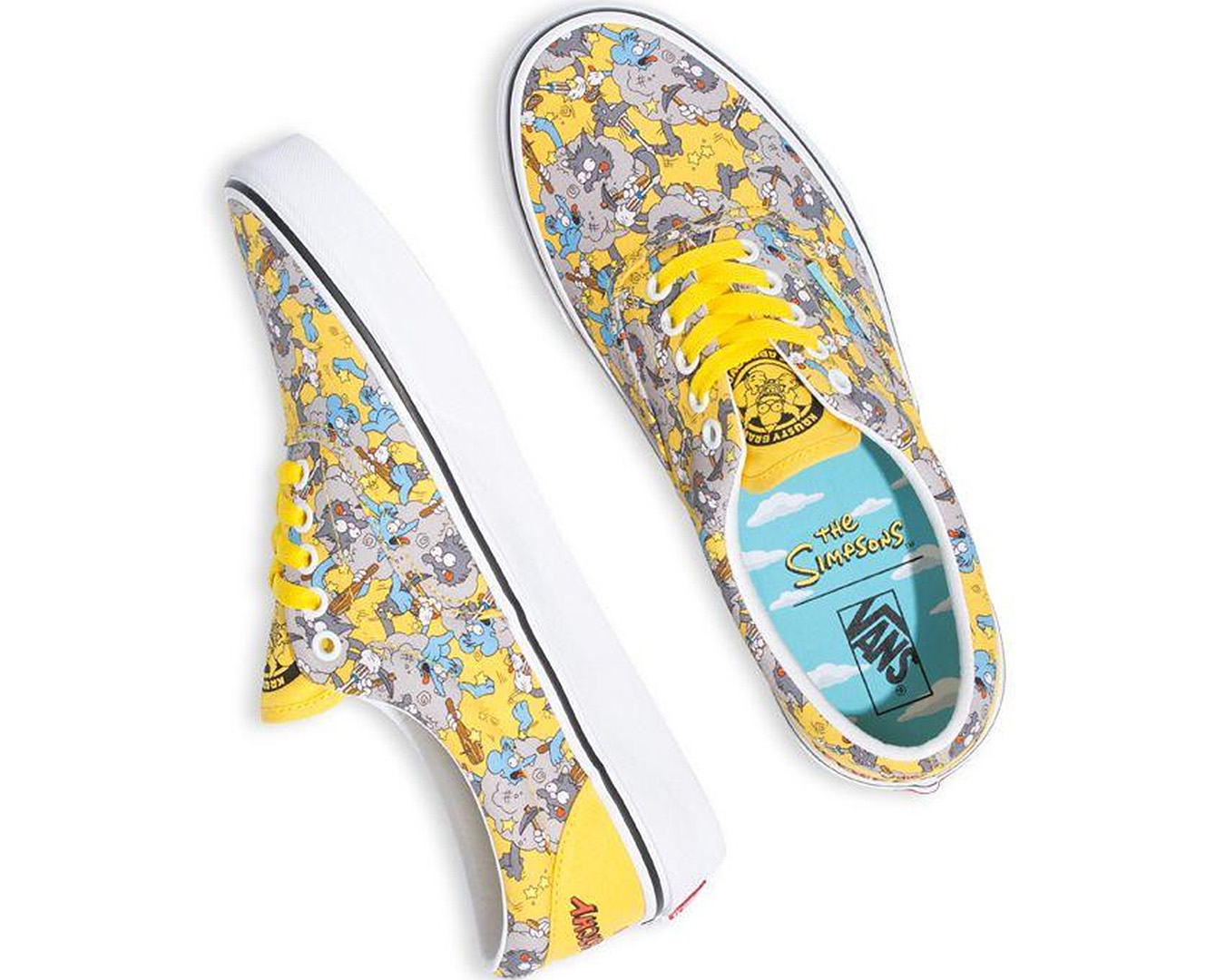 Itchy and Scratchy characters feature on these Vans Era collabs.