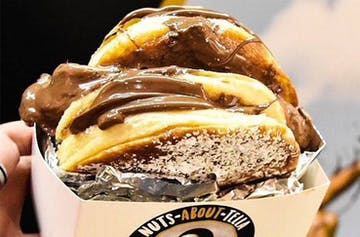 Say Bye-Bye To Those Diet Goals: The Nutella Burger Has Arrived In Melbourne